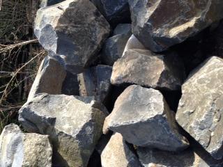 Black Basalt Rockery